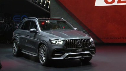 World Premiere Mercedes-AMG GLE 53 4MATIC+ at Geneva Motor Show 2019