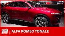 Alfa Romeo Tonale : la surprise milanaise du salon de Genève