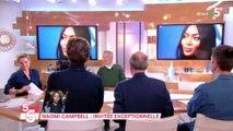 Luchini perd tous ses moyens face à Naomi Campbell !