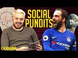 HIGUAIN is DONE!! | SOCIAL PUNDITS ft. JAACKMAATE | X OddsM8 | EP 1