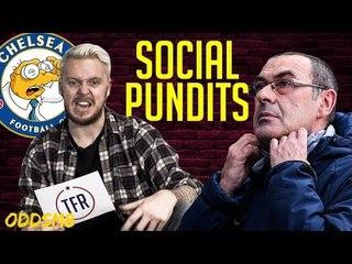Sarri is a stubborn Moleman! | SOCIAL PUNDITS ft. JAACKMAATE | X OddsM8 | EP 2