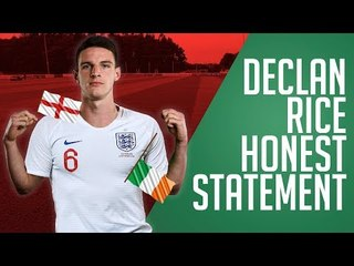What Declan Rice REALLY Meant To Say...