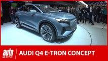 Audi Q4 e-Tron et e-Tron GT : premier aperçu au salon de Genève
