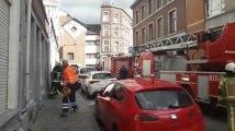 Une feu de friteuse dégénère en explosion a Hodimont sur la commune de Verviers