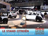 Le stand Citroën en direct du salon de Genève 2019