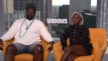The 'Widows' Cast Gushes About A Puppy