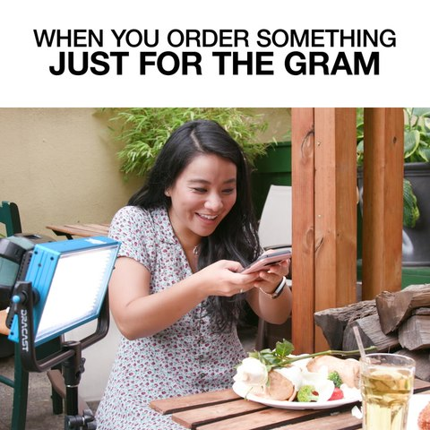 When You Order Something Just For The Gram
