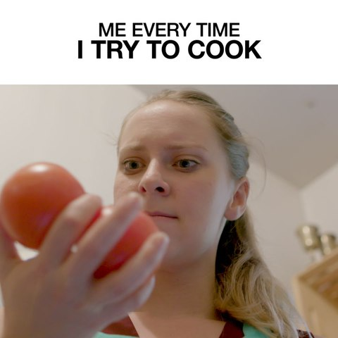 Me Every Time I Try To Cook