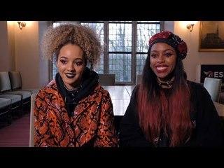 Nova Twins interview - Amy Love & Georgia South (@ESNS2019)