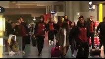 La Roma arriva a Porto (5/03/2019)