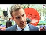 Theo James Interview Divergent European Premiere