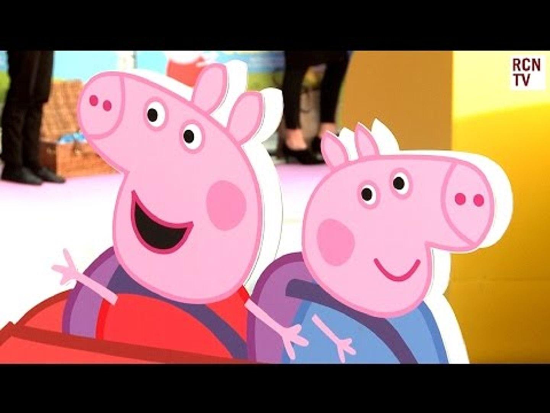 Peppa Pig Premiere Interviews