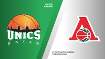 UNICS Kazan - Lokomotiv Kuban Krasnodar Highlights | 7DAYS EuroCup, QF Game 1