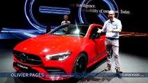 Mercedes CLA Shooting Brake - En direct du salon de Genève