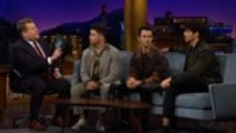 Jonas Brothers Make Epic Appearance on 'Late Late Show With James Corden'   Billboard News