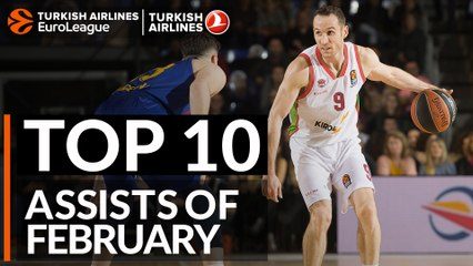 Top 10 Assists of February