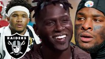 Raiders Trying To Make Superteam With WR Antonio Brown, RB Le'veon Bell & QB Kyler Murray