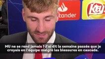 Paris SG-Manchester United  : Luke Shaw remercie Ole Gunnar Solskjær
