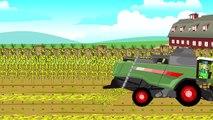 le Tracteur | Le conte de farmes | moissonneuses-batteuses pour bébés | Bajki Traktory dla dzieci