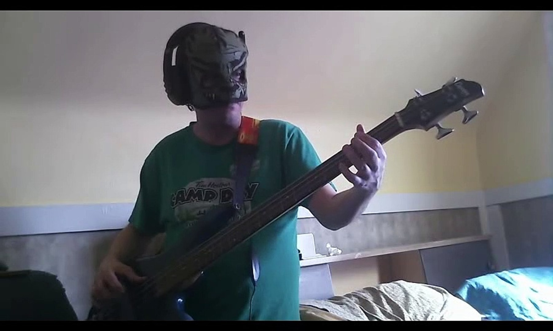 Sonic 2 final boss bass cover
