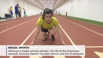 Brazilian Paralympic athlete Veronica Hipolito overcomes tumors, wins medals