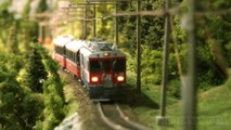 Model Trains from Switzerland: The Rhaetian Railway (RhB) - Metre gauge and electrified | Pilentum Television - The world of model trains