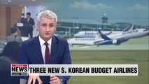 Three new budget airlines granted air transport licenses