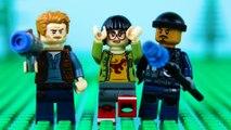 LEGO Jurassic World STOP MOTION LEGO Jurassic World: T-Rex Attack | LEGO Dinosaurs | By Billy Bricks
