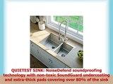 KRAUS Standart PRO 32inch 16 Gauge Undermount 6040 Double Bowl Stainless Steel Kitchen