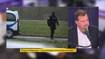"""""""On a l'impression d'un laxisme généralisé"""", affirme Louis Aliot, député RN des Pyrénées-Orientales après l'agression de deux surveillants de la prison de Condé-sur-Sarthe"""