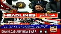 Headlines ARYNews 1300 6th March 2019