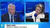 """Pacte social et écologique de Berger et Hulot : Bruno Le Maire """"très réservé sur toute augmentation d'impôt"""""""