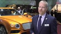 Bentley at Geneva Motor Show 2019 - Chris Cole