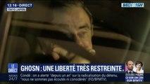 Les premières images de la libération de Carlos Ghosn après trois mois passés en prison