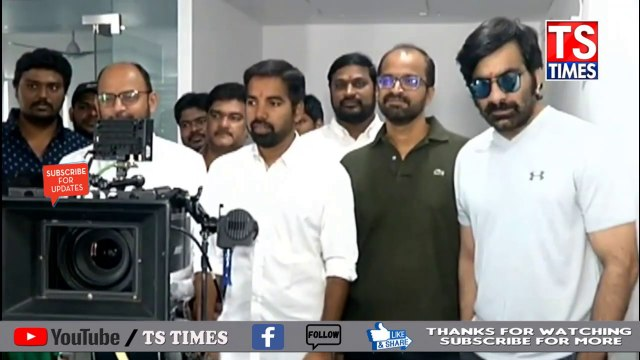Mass Maharaja Ravi Teja Disco Raja New Movie Opening @TS TIMES