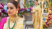 Surveen Chawla looks beautiful beyond words at her baby shower   FilmiBeat