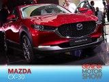 Mazda CX-30 en direct du salon de Genève 2019