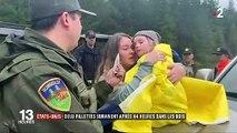 États-Unis : deux fillettes ont survécu deux nuits dans la forêt