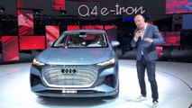 Le concept Audi Q4 e-tron en vidéo - salon de Genève 2019