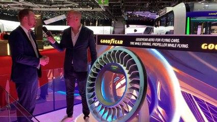 Genève 2019 - Goodyear nous présente son pneu du futur en vidéo