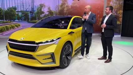 Genève 2019 -  Présentation en vidéo de la Skoda Vision iV Concept