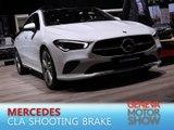 Mercedes CLA Shooting Brake en direct du salon de Genève 2019