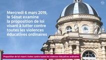 [Questions sur] la proposition de loi visant à lutter contre toutes les violences éducatives ordinaires