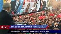 Kılıçdaroğlu ve Akşener ilk kez ortak miting yaptı