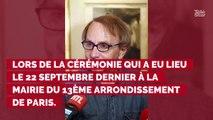 L'hommage de David Pujadas à Johnny Hallyday au mariage de l'écrivain Michel Houellebecq !