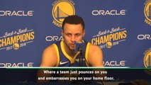 We can't have nights when we're embarrassed on our home floor - Curry