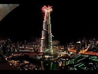 اجمل احتفالات رأس السنة من دبي 2017