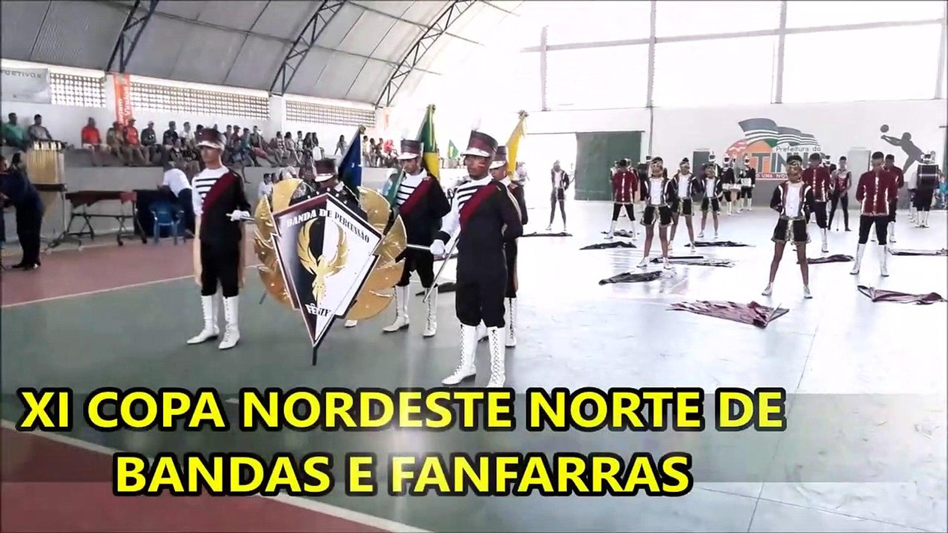 Banda de Percussao Melodica Fenix 2018 _ XI COPA NORDESTE NORTE DE BANDAS E FANFARRAS EM ALTINHO PE