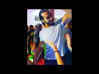 Mohamed Aamer  - فضيحة وخيانة محمد عامر بيرقص مع مزه في فرح و سلمي بتقوله نهارك ازرق