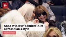 This Style Legend Likes Kim Kardashian's Look